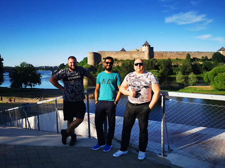 Islam and friends in Narva